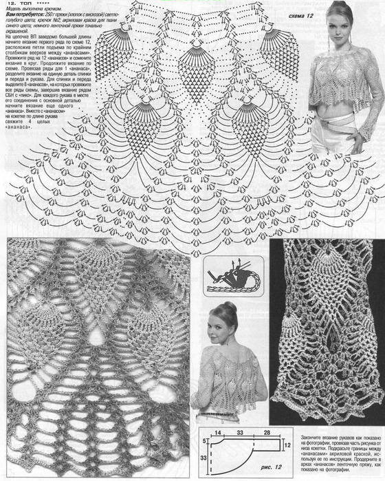 Boleros tejidos a crochet 【SIMPLES Y ELEGANTES 】 ▷ Crochet Fácil