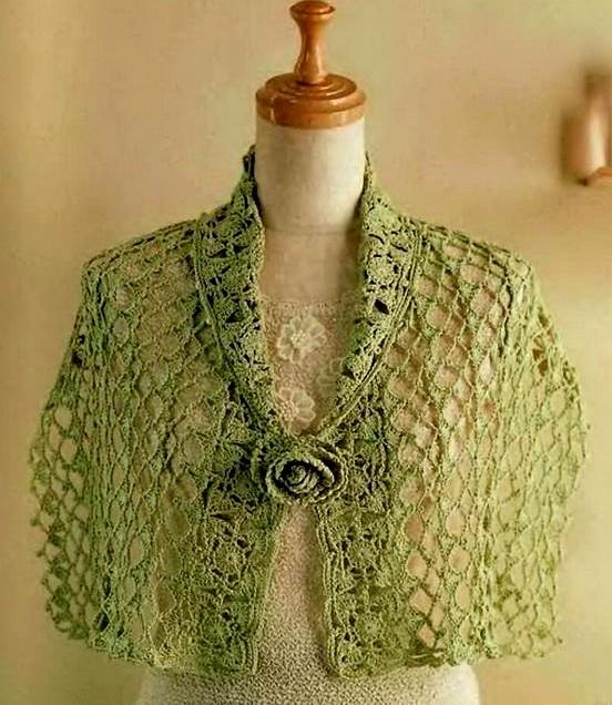 Chal de ganchillo fácil 🥇 MUY SENCILLA 🥇 ▷ Crochet Fácil
