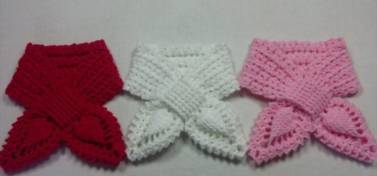 Bufanda Crochet piña ⭐ BUFANDAS CROCHET⭐ ▷ Crochet Fácil