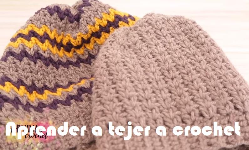 Aprender a tejer a crochet