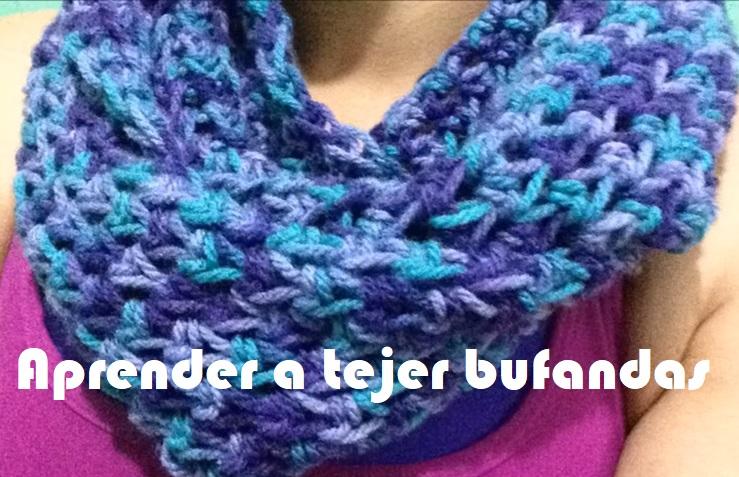 Aprender a tejer bufandas