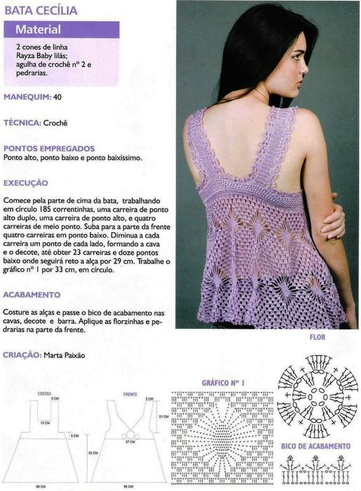 Blusas en hilo 【 GANCHILLO INCREÍBLE 】 ▷ Crochet Fácil