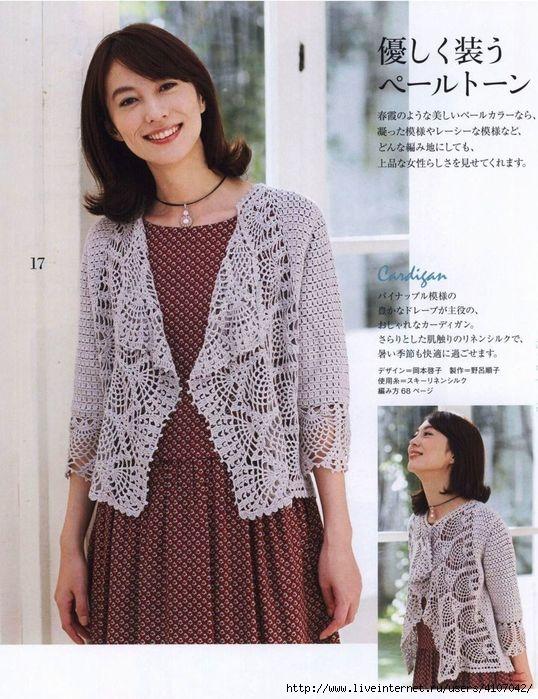 Boleros a crochet patrones 【FÁCIL-FÁCIL 】 ▷ Crochet Fácil