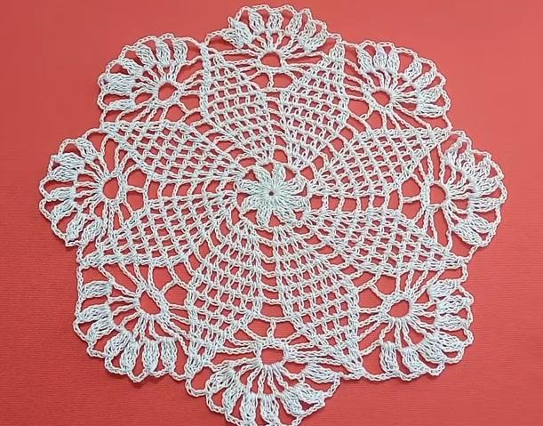 Carpetas a crochet paso a paso