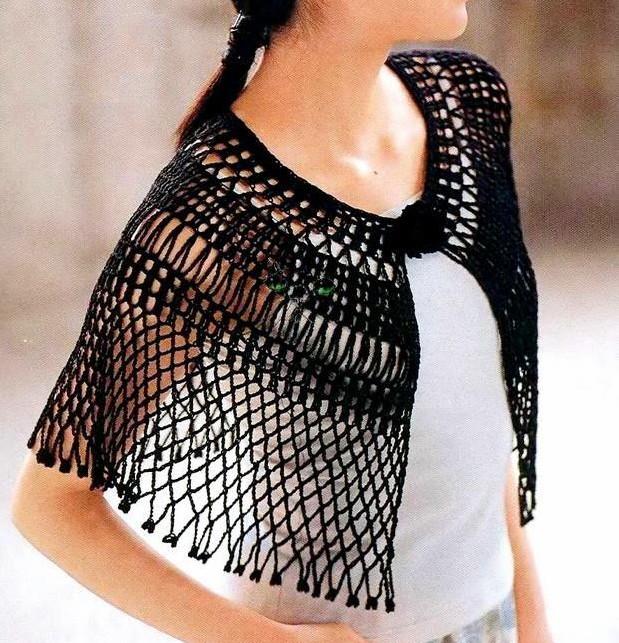 Chal crochet fácil