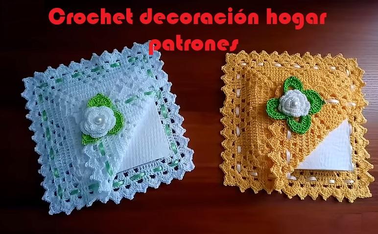 Crochet decoración hogar patrones