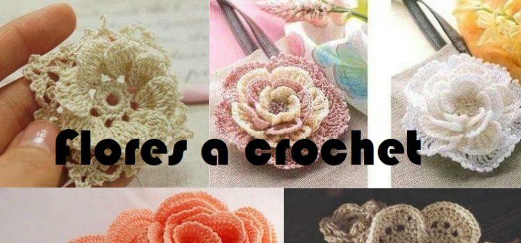 Flores A Crochet Faciles De Tejer Crochet Facil