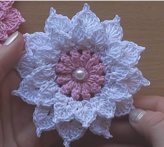 Flores De Ganchillo Vídeo Tutorial Paso A Paso Crochet Fácil