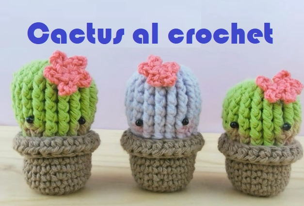 Cactus al crochet