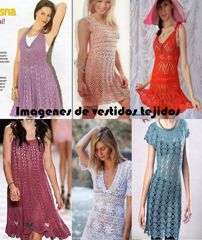 Imágenes de vestidos tejidos