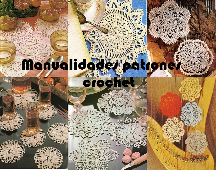 Manualidades patrones crochet