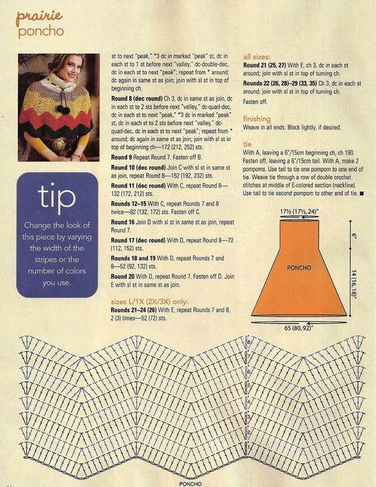 Poncho capa crochet 🥇HERMOSO Y SENCILLO ▷ Crochet Fácil