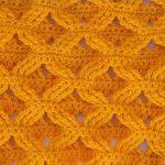 Puntos a crochet muestras
