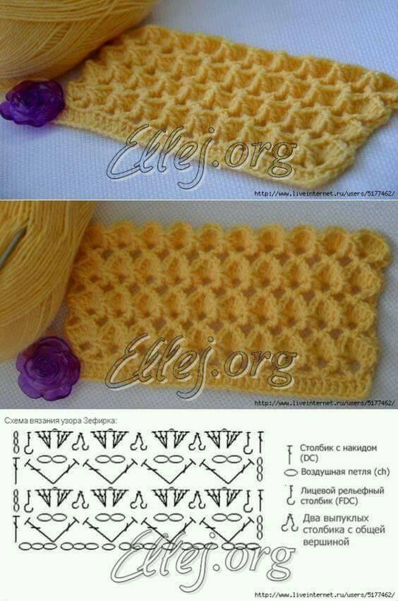 Puntos y puntadas tejidos 🥇 EXTRAORDINARIA 🥇 ▷ Crochet Fácil
