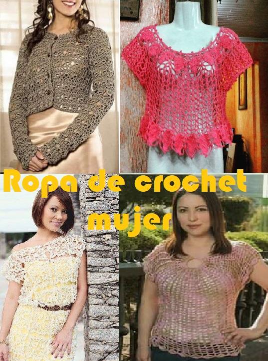 Ropa de crochet mujer