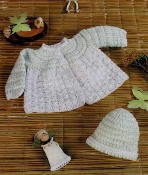 Ropa de crochet para bebe