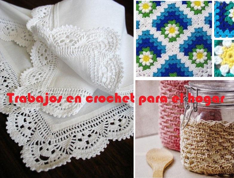 Trabajos en crochet para el hogar