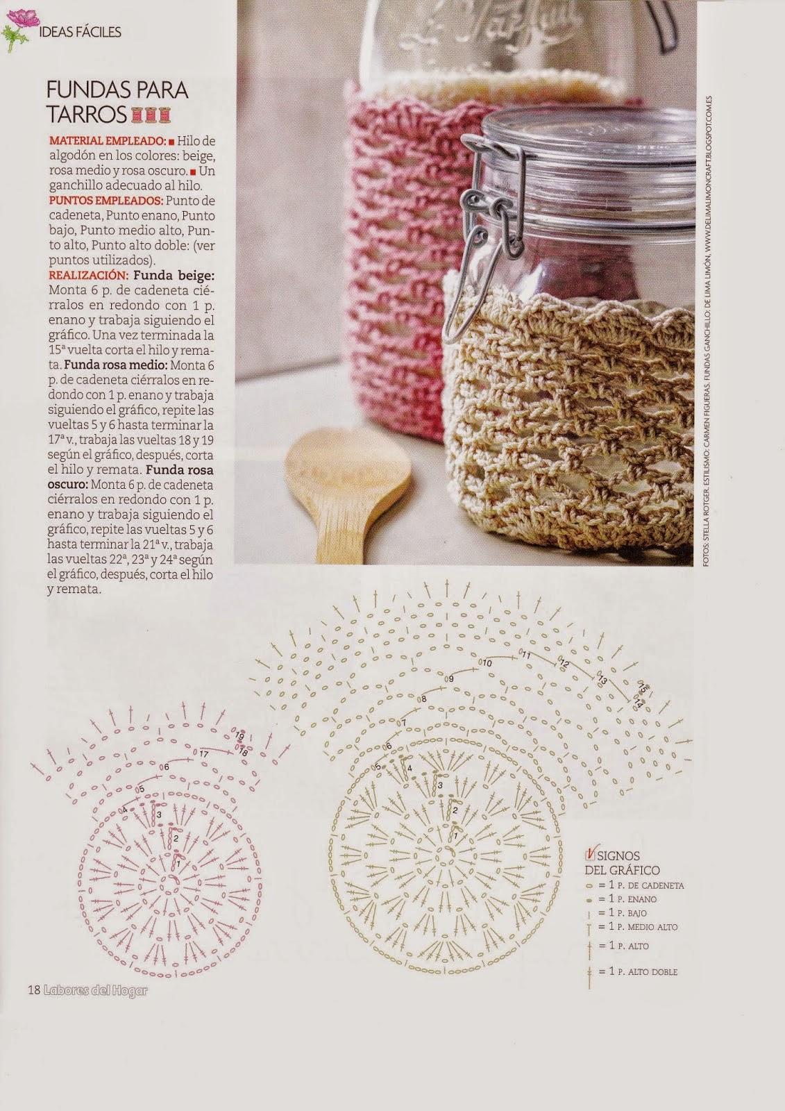 Trabajos en crochet para el hogar 【FACILISIMO 】 ▷ Crochet Fácil