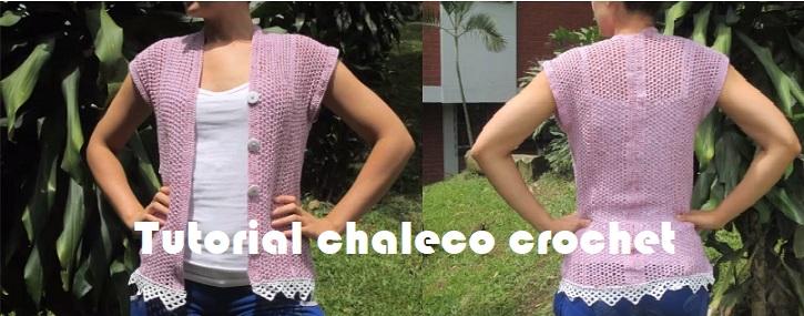 Tutorial chaleco crochet