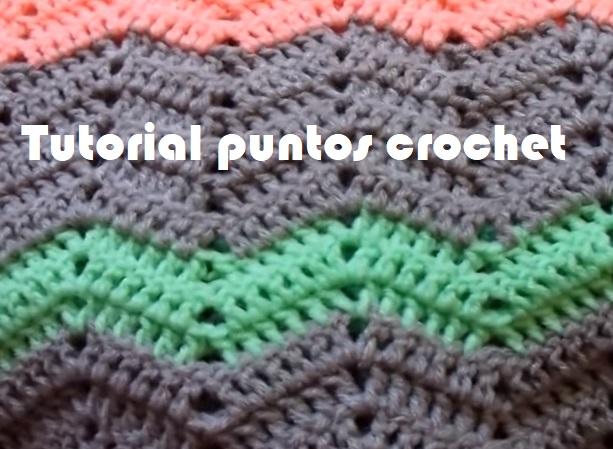 Tutorial puntos crochet