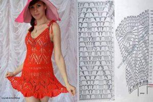 472ea5e55f3f Imágenes de vestidos tejidos ✨LINDOS Y FÁCILES✨ ▷ Crochet Fácil