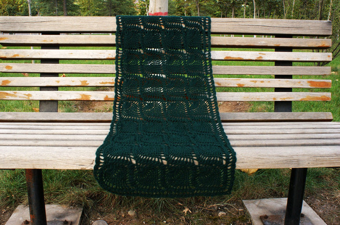 Bufandas tejidas a crochet para mujer
