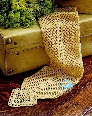 Bufandas tejidas a gancho