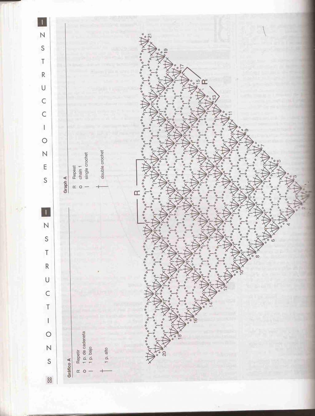 Chal fácil ⭐ ESQUEMAS DE CHAL GRATIS ⭐ ▷ Crochet Fácil