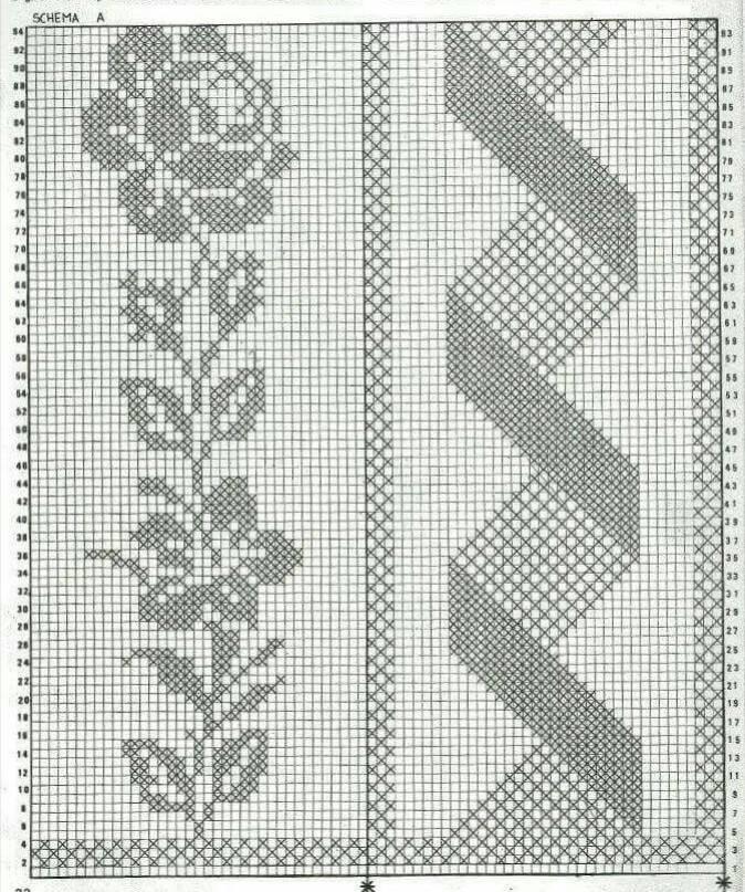 Colcha patrones ⭐ ESQUEMAS COLCHAS CROCHET GRATIS ▷ Crochet Fácil