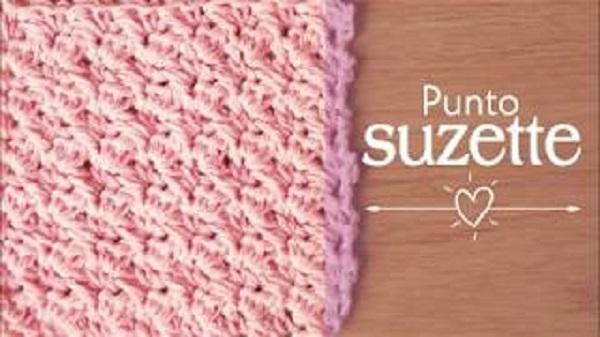 Punto Suzette crochet