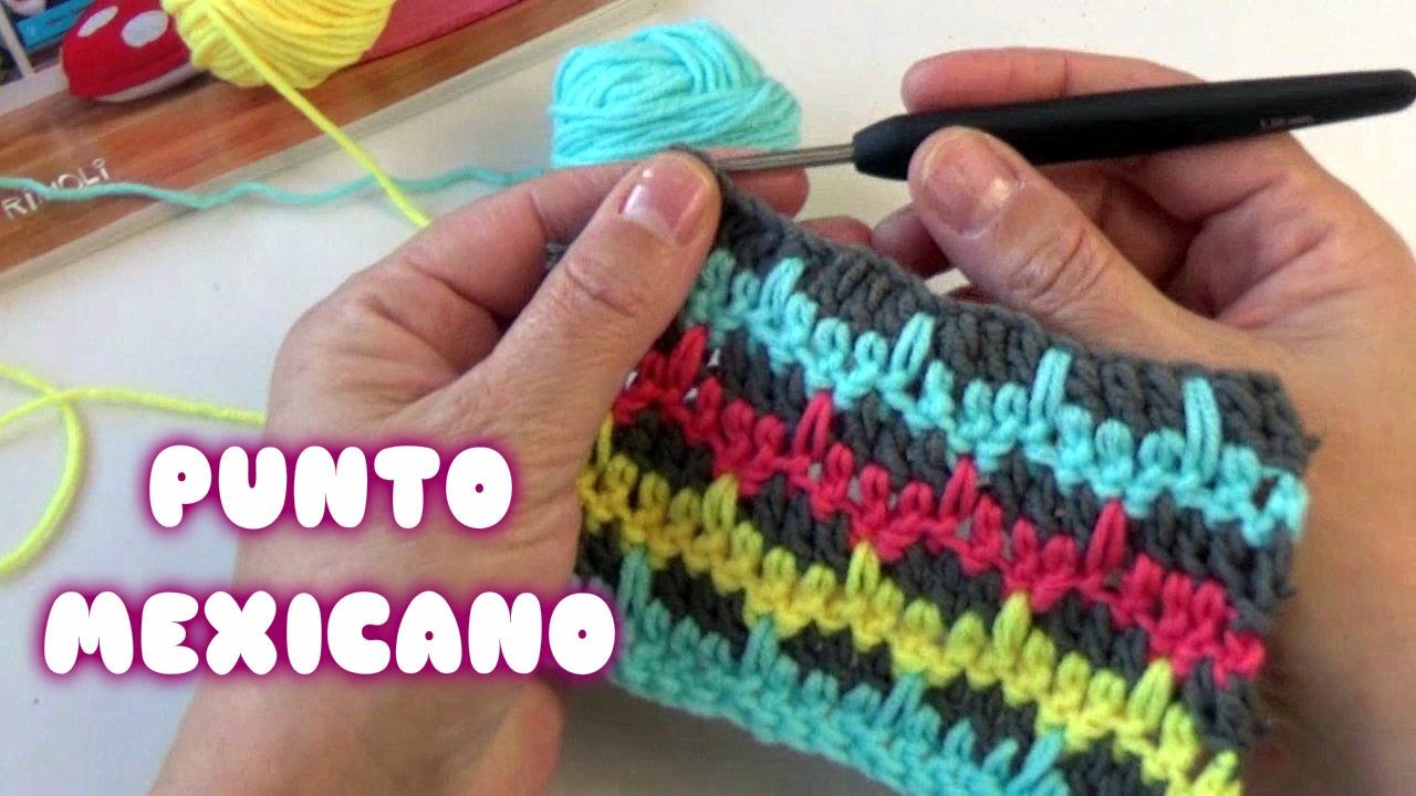 Punto crochet Mexicano