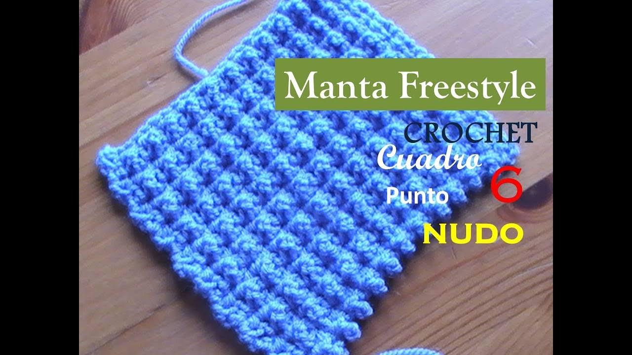 Punto nudo crochet