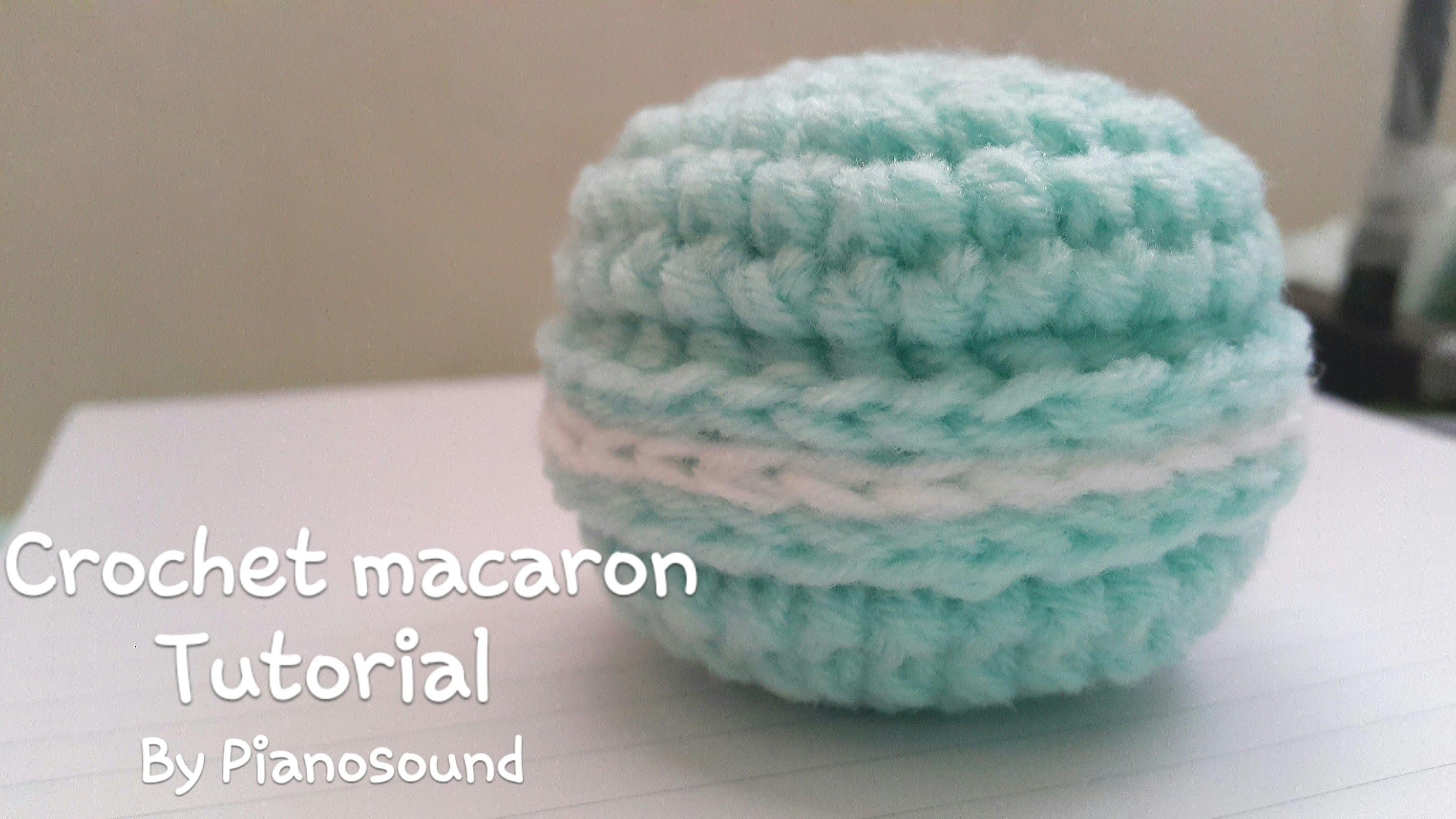 Tutorial Macaron crochet