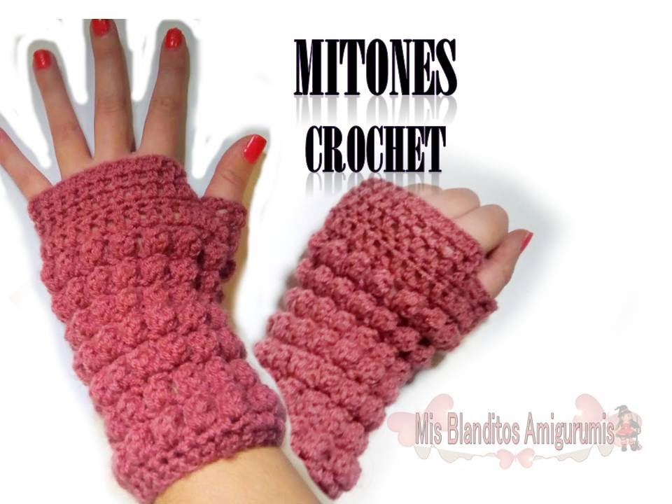Tutorial Mitones Crochet