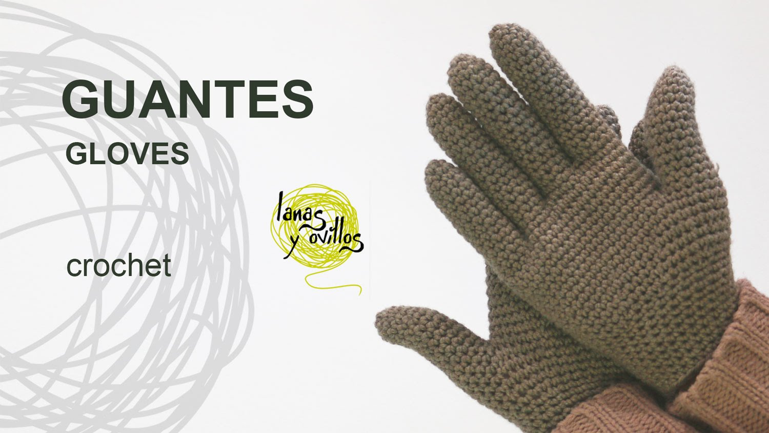 Tutorial guantes crochet