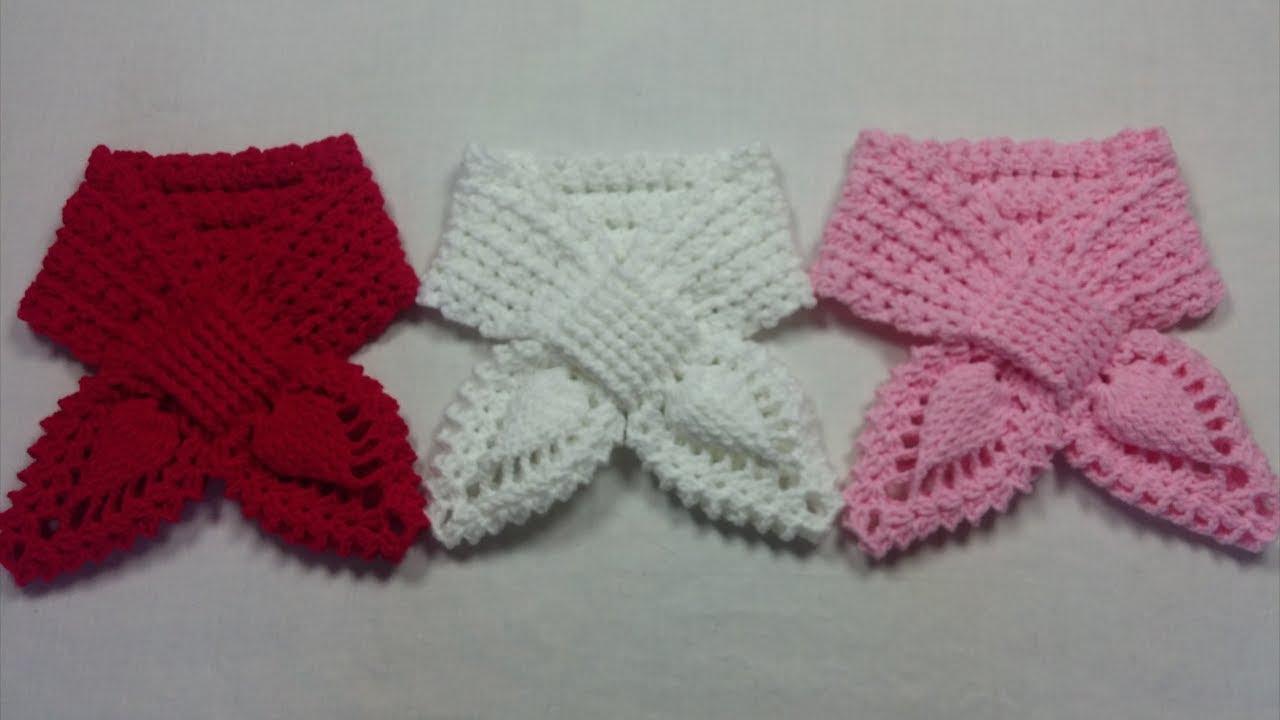 Bufanda Crochet piña