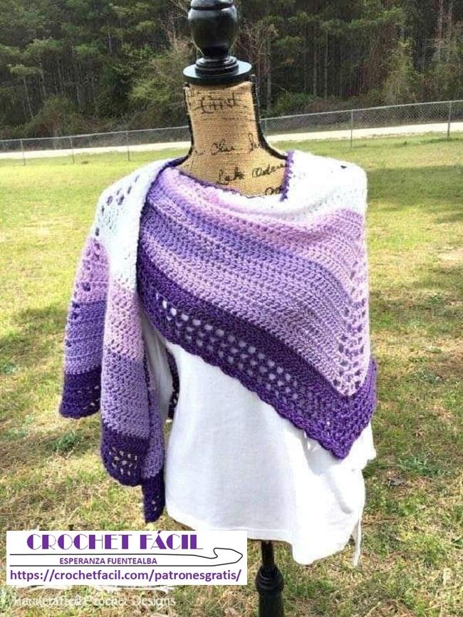 Capa Sencilla Crochet