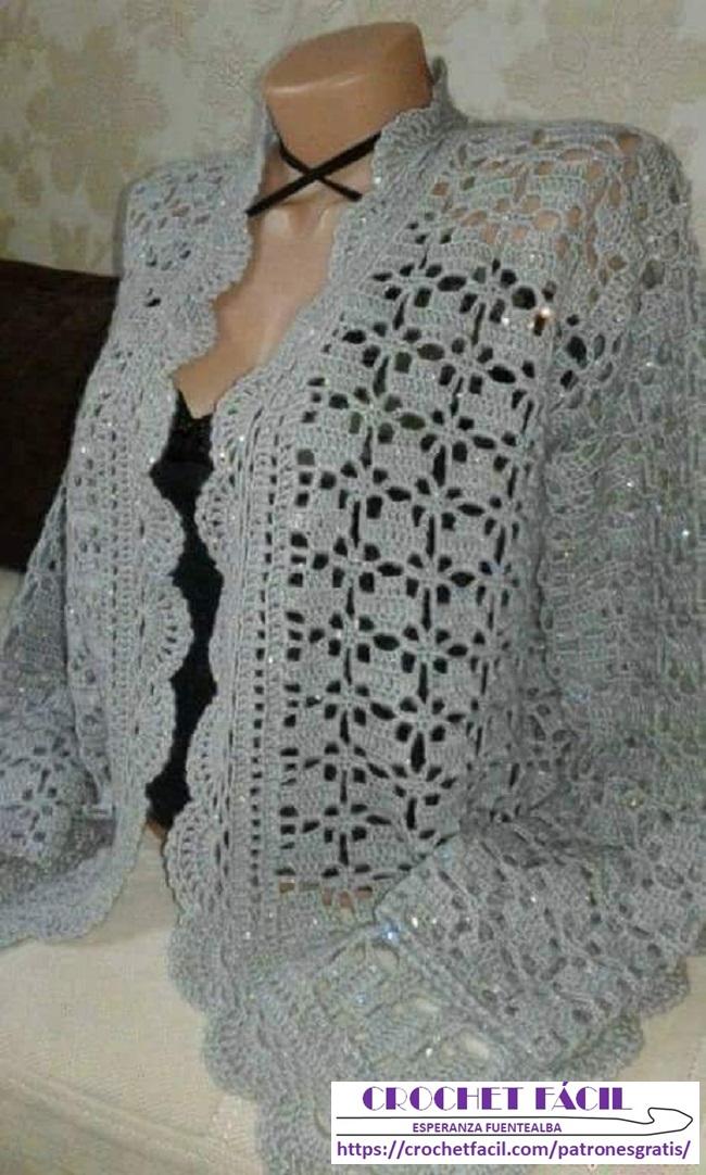 Chaleco Crochet Fácil