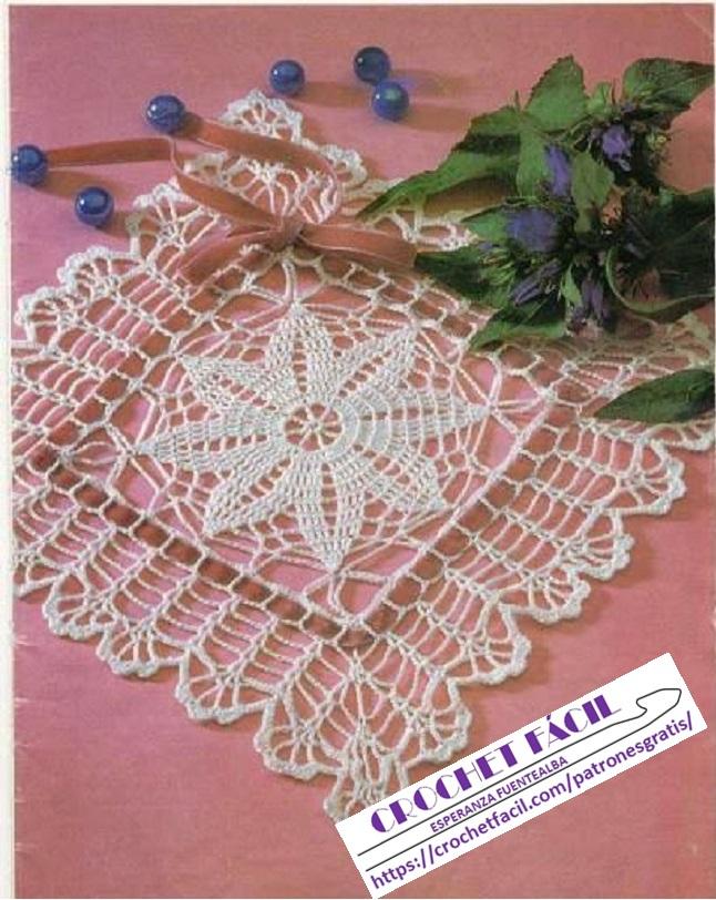 Tapete Crochet Estrella