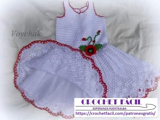 Vestido Niña Crochet Niñas Crochet Fácil